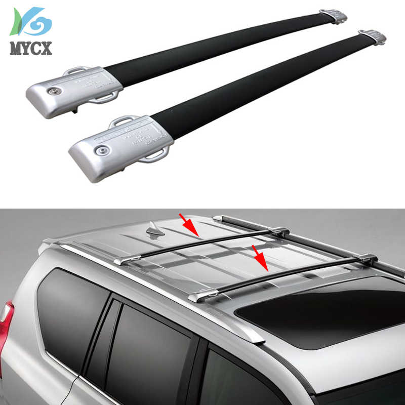 New arrival OE style roof rack roof rail cross bar For LEXUS GX GX460 GX480 2010-2019,Thicken Aluminum Alloy,Guarantee Quality