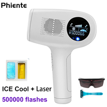 NEW IPL Laser Hair Removal Machine Realy ICE Cold Permanent Painless Epilator Women for Depiladora Facial Remover