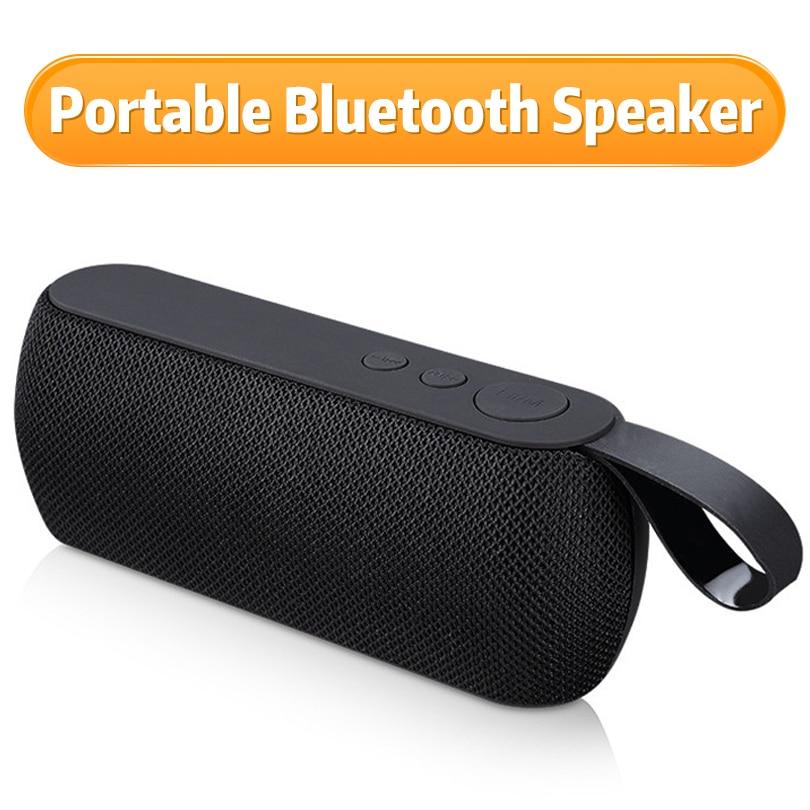 Portable Bluetooth Speaker Outdoor Speaker Wireless Loudspeaker Sound System 3D Stereo Music Column Radio Soundbar With TF FM