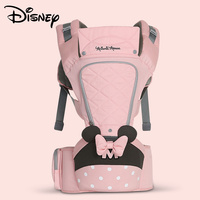 Disney breathable front baby bag Hipseat baby comfort strap backpack bag wrap carrier kangaroo strap front carrier ergonomic