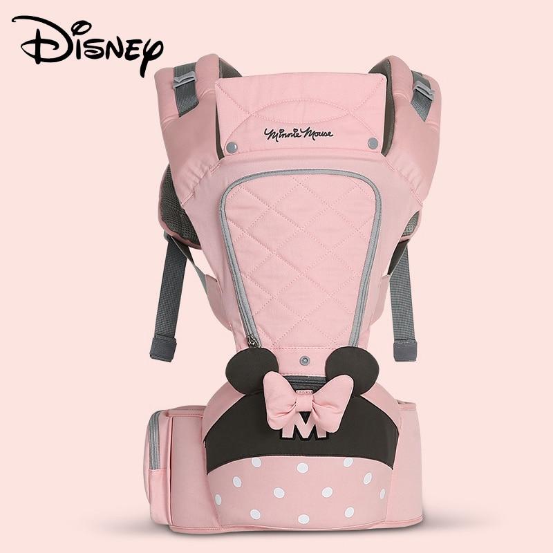 Disney sac bébé avant respirant Hipseat bébé sangle confort sac à dos sac porte-emballage sangle kangourou porte-bagages avant ergonomique
