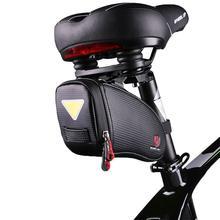HobbyLane Waterproof Bicycle Saddle Bag Mountain Road Bike Tail Bag Cycling Seat Bag Bicycle Accessories Bags Hot Sale Black цена