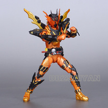 Figura de acción del Anime japonés Kamen Rider, SHF Build Cross Z Magma, juguetes de modelos de colección en Pvc