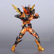 Japão anime kamen rider figura de ação shf construir cross z magma figuras pvc coleção modelo brinquedos