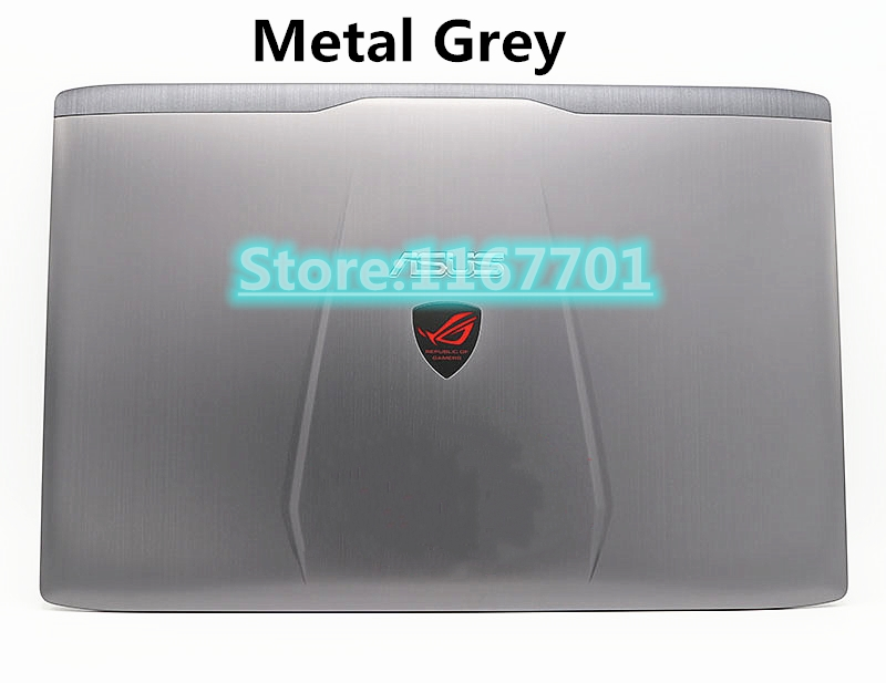 New Laptop Top/Back Case/Cover/shell For ASUS ROG Strix GL552 GL552V GL552VE GL552VW GL552JX ZX50V ZX50J ZX50JA Metal Grey/Blak