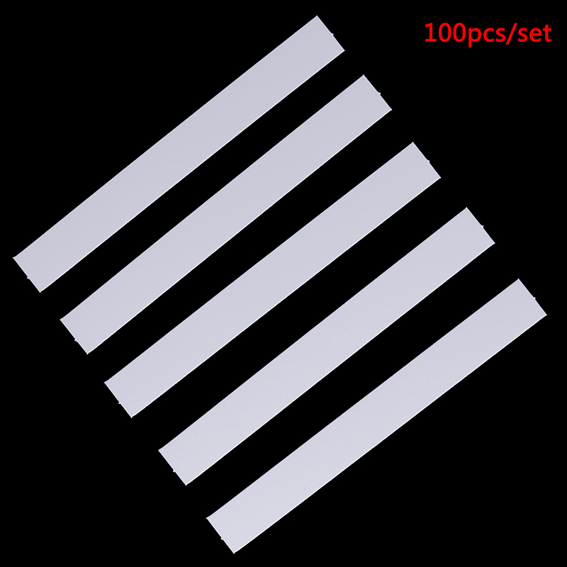 100pcs Testing Strip 130x15mm Aromatherapy Fragrance Perfume Essential Oils Test Tester Paper Strips