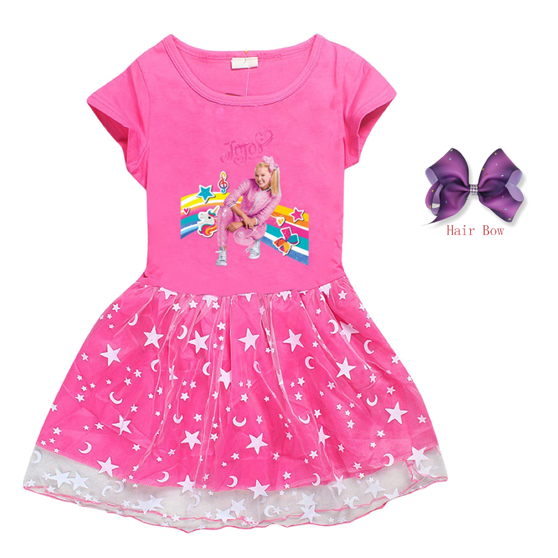 Girls JoJo inspired Short sleeve Spring Summer Dress