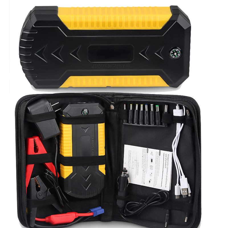 12v 600A <font><b>Car</b></font> Booster Jump Starter 88000mAH Emergency Starting Device Power Bank With USB <font><b>Charger</b></font> Portable <font><b>Battery</b></font> <font><b>Car</b></font> Booster image