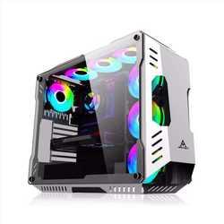 Blackrock Tower Pandora E-sports компьютерный настольный компьютер сплит-типа с водяным охлаждением с воздушным охлаждением ATX настольное игровое шасси