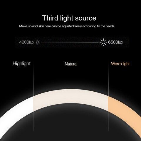 nordico toque ajustar brilho temperatura de cor