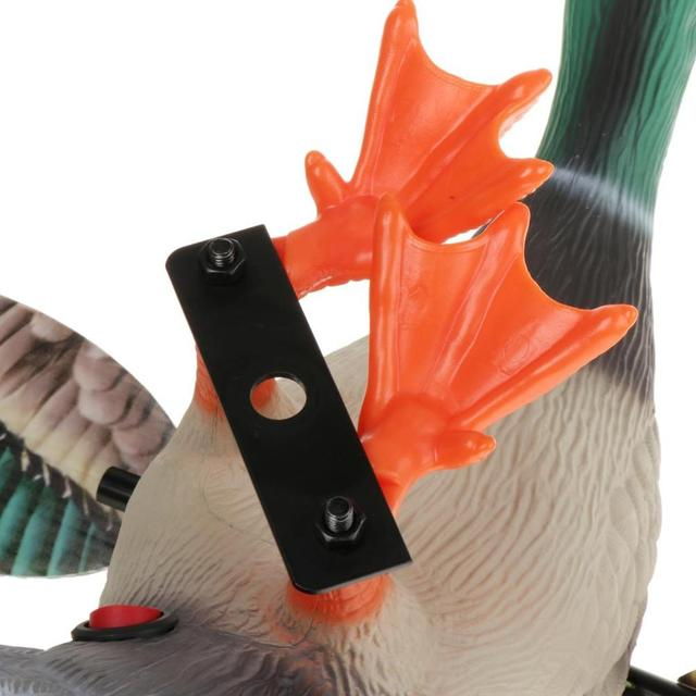 Simulation of Electric Hunting Bait Male Duck Battery-Powered 3D Wings Can Be Moved Hunting Bait Duck Supplies Remote Control 6