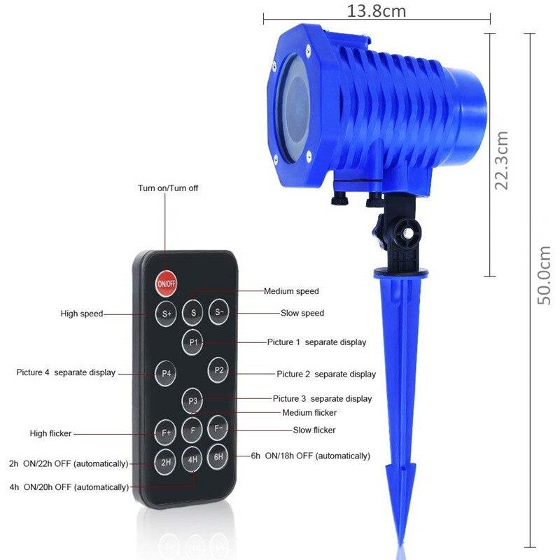 luz de controle remoto luzes do projetor 03