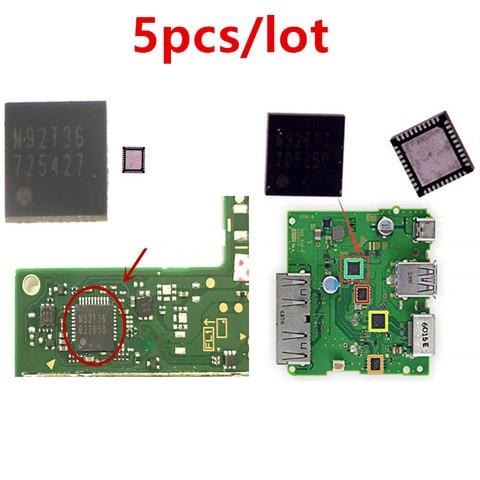 Lote de Carregamento da Bateria ic para Nintend Energia Chip M92t36 Hdmi Placa-mãe M92t17 Controle Vídeo Áudio Switch ns 5 Pçs – ic