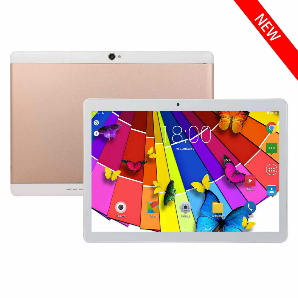 FreeStyIe Tablet Android 10.1 Inch 6+128GB Android 8.0 Tablet PC Dual SIM Wifi /4G Phone Call /Blutooth /GPS / Dual Camera