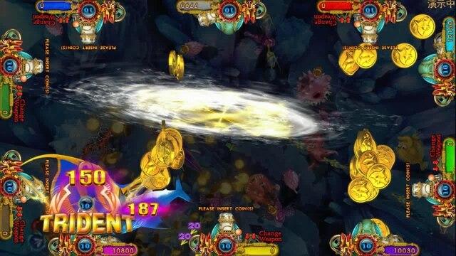 USA High Profit Hot Selling Fish Game Table Gambling Machines For Sale Ocean King 3 Plus Aquaman Realm 5