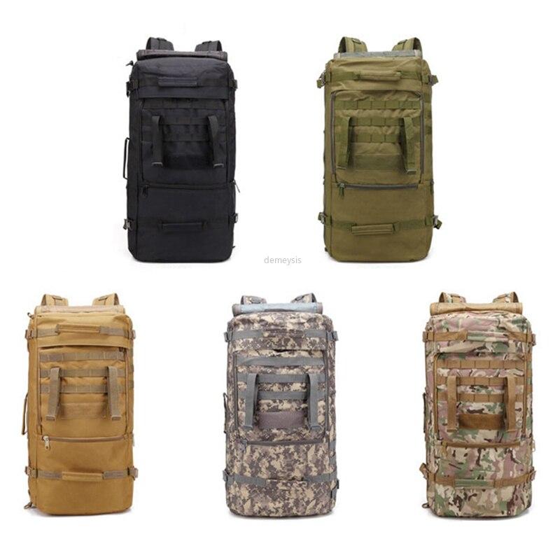 60L grande capacité alpinisme sac à dos Molle militaire tactique Bakcpacks multifonction Camping en plein air randonnée sac à dos sacs