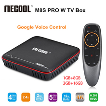 M8S PRO W Android 7.1 TV Box 2.4G Voice Control S905W 4k H.2