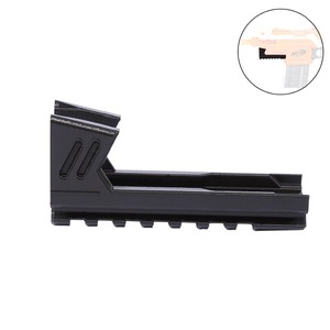 Worker F10555 3D Printing Inclosed Type Bottom Rail for Nerf Stryfe Black Decoration For Nerf Gun Modification