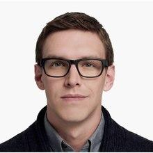 Tasarımcı asetat gözlük çerçeveleri mavi Roosevelt