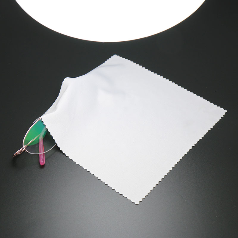 10 pcs/lots Microfiber(80/20) Cleaner 15*18cm Microfiber Glasses Cleaning Cloth Lens Phone Screen Watch Wiping cloth image