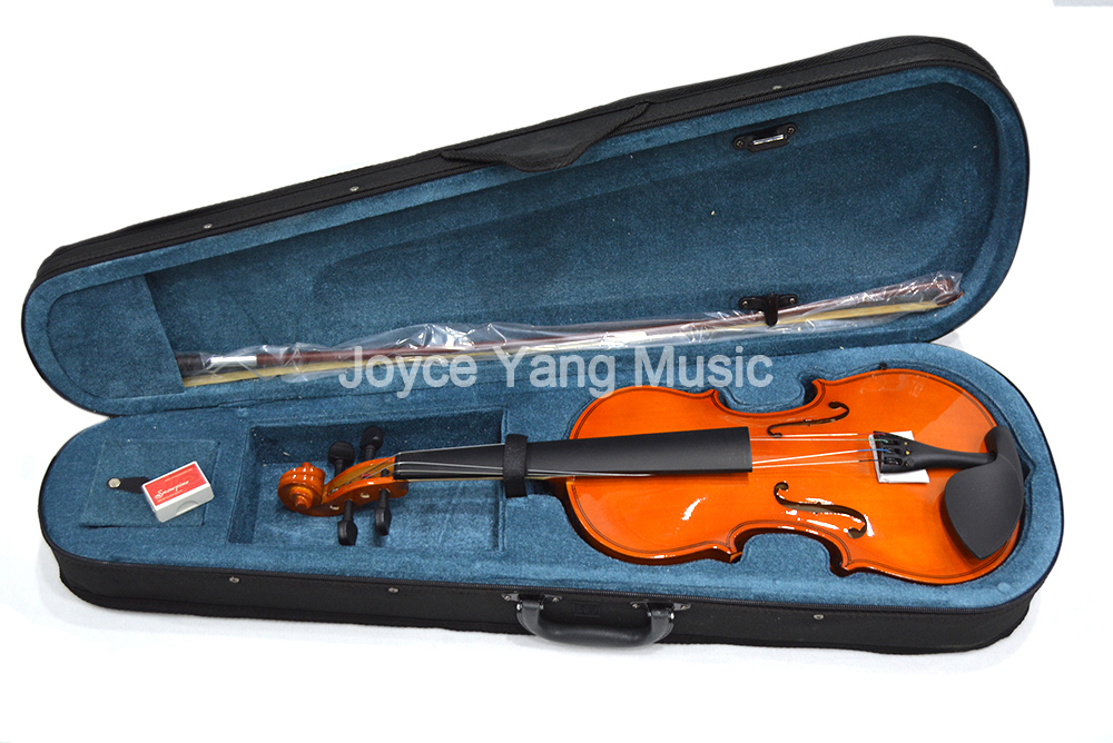 Violin 4/4 Full Size Wood Fiddle With Case Rosin Bow For Kids Students Beginner