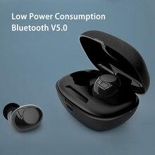 New Mini Ultra Low Power TWS 5.0 Bluetooth Headset True Wireless Bass Earphone Universal Waterproof Sports HI-FI Stereo Earbuds