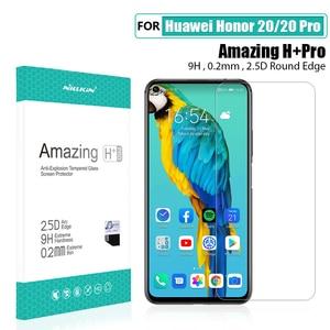 Image 5 - Für Huawei Honor 20 Glas Screen Protector NILLKIN Erstaunlich H/H + PRO 9H für Gehärtetem Glas Schutz für huawei honor 20 pro 6,26