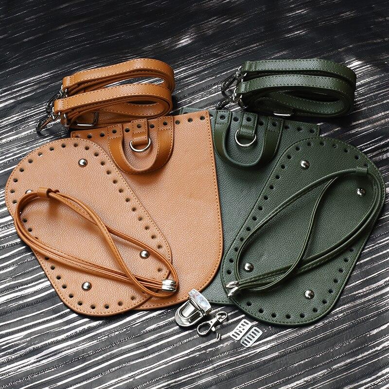 Kzfashion Bag Bottom Flap Cover Hardware Package Accessories For Bags Diy HandBag Shloulder Straps For Diy Women Backpack #CF