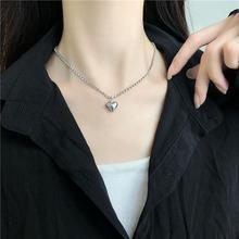 Женское ожерелье с подвеской в виде сердца