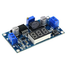 цена на 1pcs LM2596 LM2596S DC-DC 4.5-40V adjustable step-down power Supply module   Free Shipping
