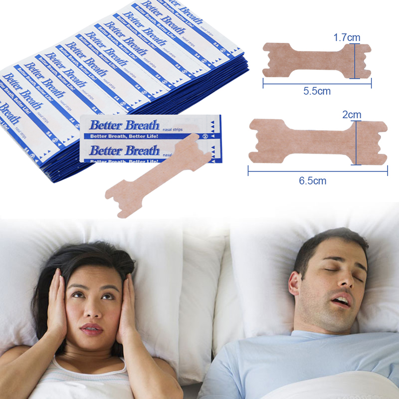 200pcs Anti Snoring Nasal Patch Better Breathe Good Sleeping Nasal Strips Stop Snoring Strips Easier Health Care Patch Product|Sleep & Snoring|   - AliExpress