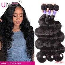 Unice Haar Kysiss haar 8A Körper Welle Brasilianische Haarwebart Bundles 100% Menschliches Haar 1/3 /4 Stück 8 30 zoll Reines Haar