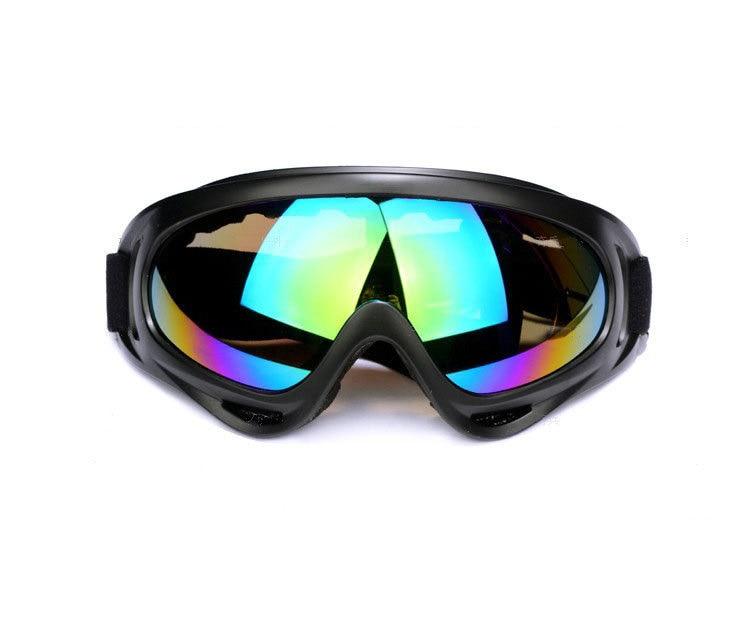 Ski Goggles Skiing Eyewear Glasses Bendable UV400 Windproof Anti-fog Ski Mask Snowboard Goggles