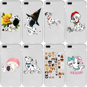 Halloween Dalmatians Dog Cover Case for Oneplus 3 3T 4 5 5T 6 6T 7 7T 8 Pro