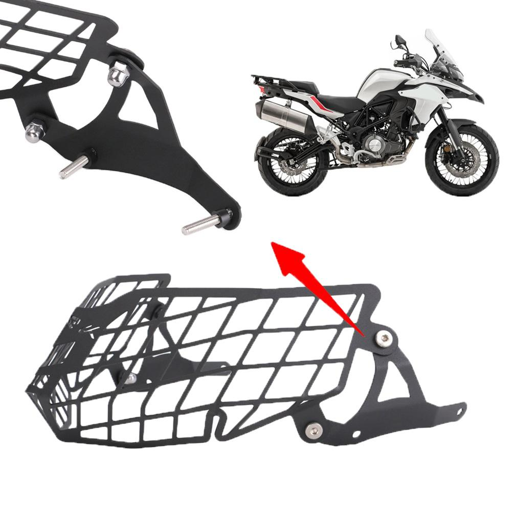 Motorcycle Universal Durable Anti-rust Headlight Guard Protector Grille Cover For Benelli TRK502 Motorcycle Accessories