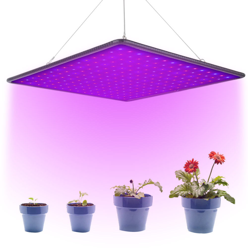 Ultra Thin 225 LED Grow Light Panel Full Spectrum Phytolamp AC85~265V 40W Indoor Tent Greenhouse Hydroponic Plants Seedling Lamp