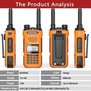 Image 3 - Echt Baofeng UV 10R 10W Walkie Talkie Radio Station Met Fcc & Ce Comunicador 30Km Transceiver Upgrade UV 5R BF 9R plus Radio