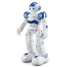 LEORY RC Robot inteligentne programowanie pilot Robotica Toy Biped Robot humanoidalny dla dzieci prezent urodzinowy dla dzieci