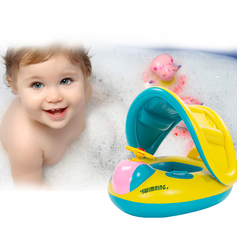 Inflatable Baby Swimming Ring Kids Summer Swimming Pool Swim Float Water Fun Pool Toys Swim Ring Seat Boat Sports For Kids