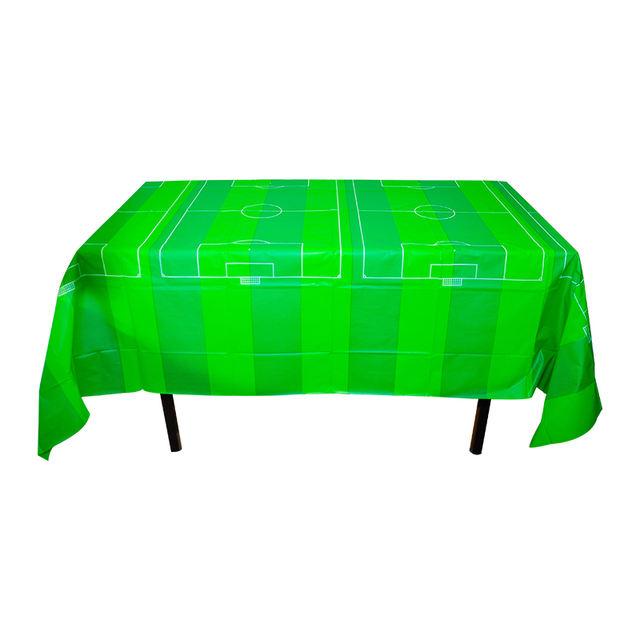 Green Football Theme Tablecloth