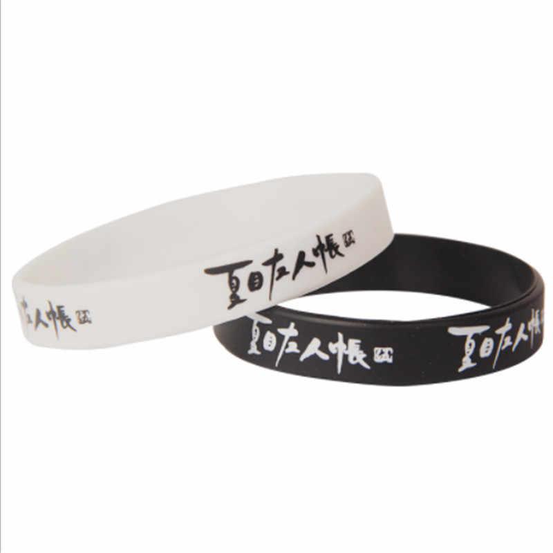 Set de 2 unidades de pulseras Kpop de Anime en blanco y negro para mujeres y reyes, brazalete con cita de Avatar, un brazalete en vivo, joyería mejor amigo B172
