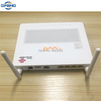 Free shipping Secondhand 99% New 100pcs HG8347R epon onu for fiber optic network router,1GE+3FE+1TEL+1USB+wifi, English firmware