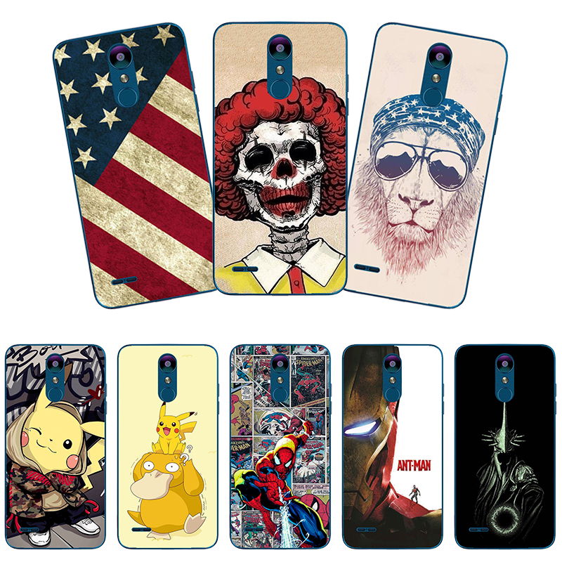 Super Hero Phone Case Cover For <font><b>LG</b></font> <font><b>V50</b></font> V40 V30 V20 <font><b>ThinQ</b></font> 5G Back Cover For <font><b>LG</b></font> K8 K10 2018 K9 K40 S K50 S Stylo 4 5 STYLUS 3 Case image