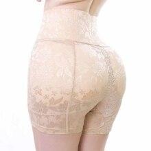 Damskie Hip Enhancer Butt Lifter wyściełane majtki pas wyszczuplający talię majtki kontroli wysokiej talii kontrola brzucha klepsydra rysunek szorty