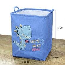 Laundry Hamper Baskets-Bin Storage-Box Cube Animal Toys Organizers Folding Large Kids