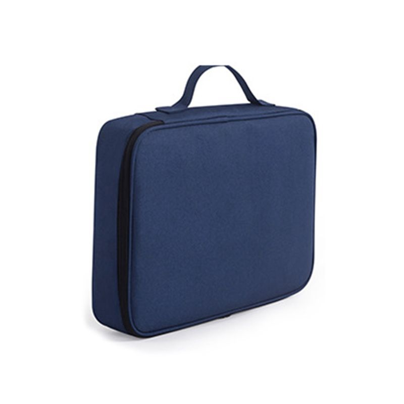 Document Ticket Storage Bag Waterproof Large Capacity Certificates Files Organizer For Home Office Travel
