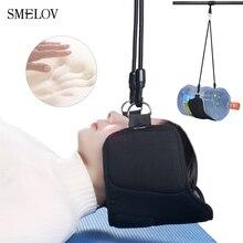 smelov hot portable ultralight single sleeping hammock Neck Pain Relief head spa Massage memory foam pillow cushion