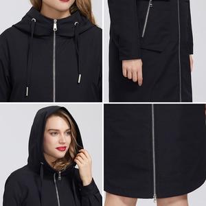 Image 5 - MIEGOFCE manteau coupe vent en coton pour femmes, Trench, de styliste, avec col résistant, Trench chaud, nouveauté 2020