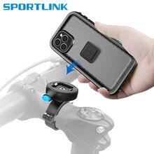 אופניים מחזיק טלפון עבור iPhone 12 Samsung אוניברסלי נייד טלפון סלולרי בעל אופני כידון קליפ Stand GPS הר Bracket