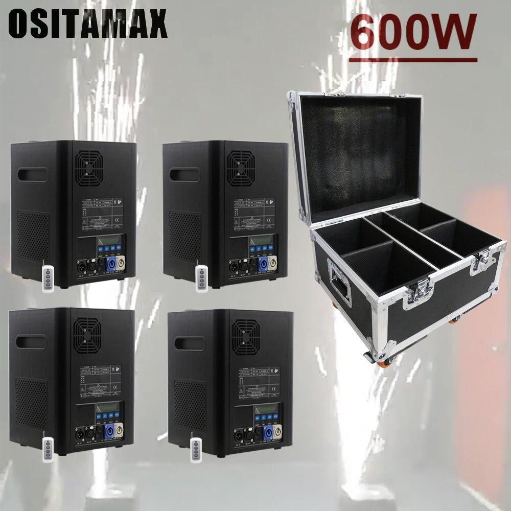Livraison gratuite 600W étincelle flamme machine DMX contrôle froid étincelle machine flamme mariage spécial scène décoration feux d'artifice machine